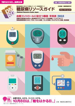 血糖値を反映する指標とその測定機器 早見表