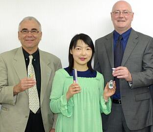 Mr.Ron Raab, Mr.Neil Donelan and Ms.Saori Morita