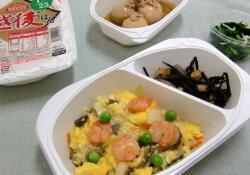 やすらぎ膳 たんぱく質30gコース 昼食