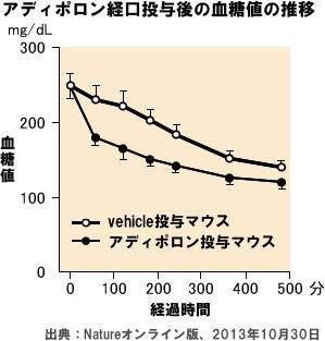 アディポネクチン受容体を強める内服薬を発見 日本発の新薬の開発へ
