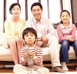 家族で健康に取り組むと効果的 子供との対話がカギ
