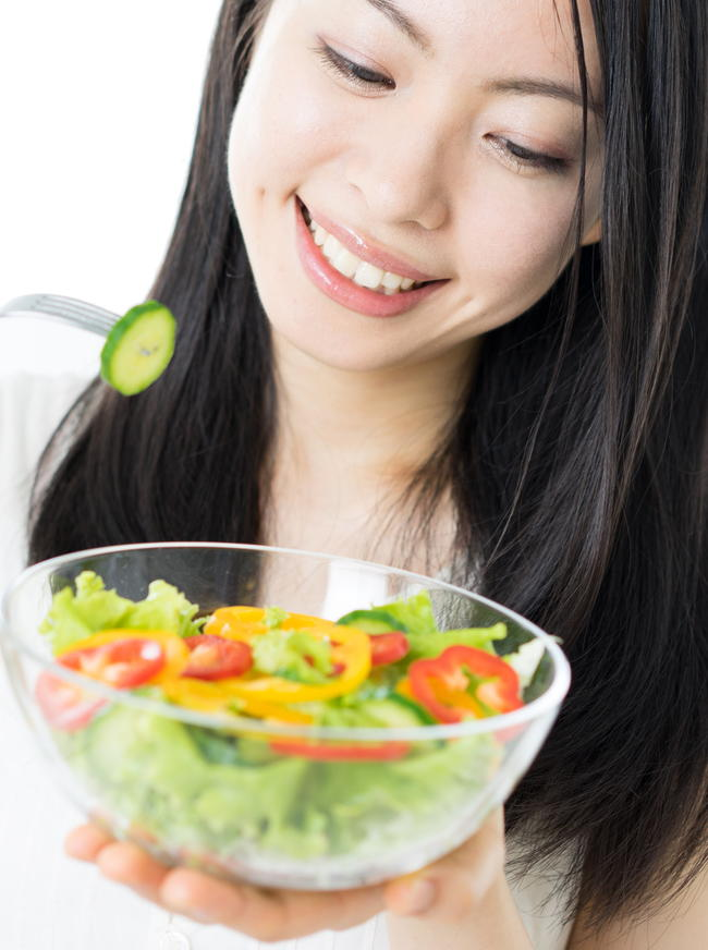 スローカロリーで肥満解消 糖質の吸収を遅らせて血糖値上昇を抑える