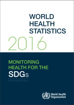 WHOが「World Health Statistics 2016年版」を無料で公開