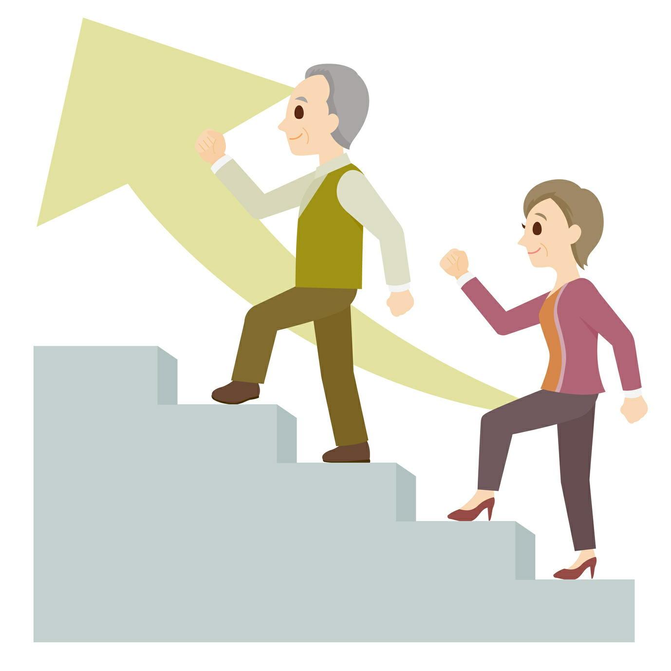 わずか10分の「階段昇降」が実践的な運動に 階段なら続けられる