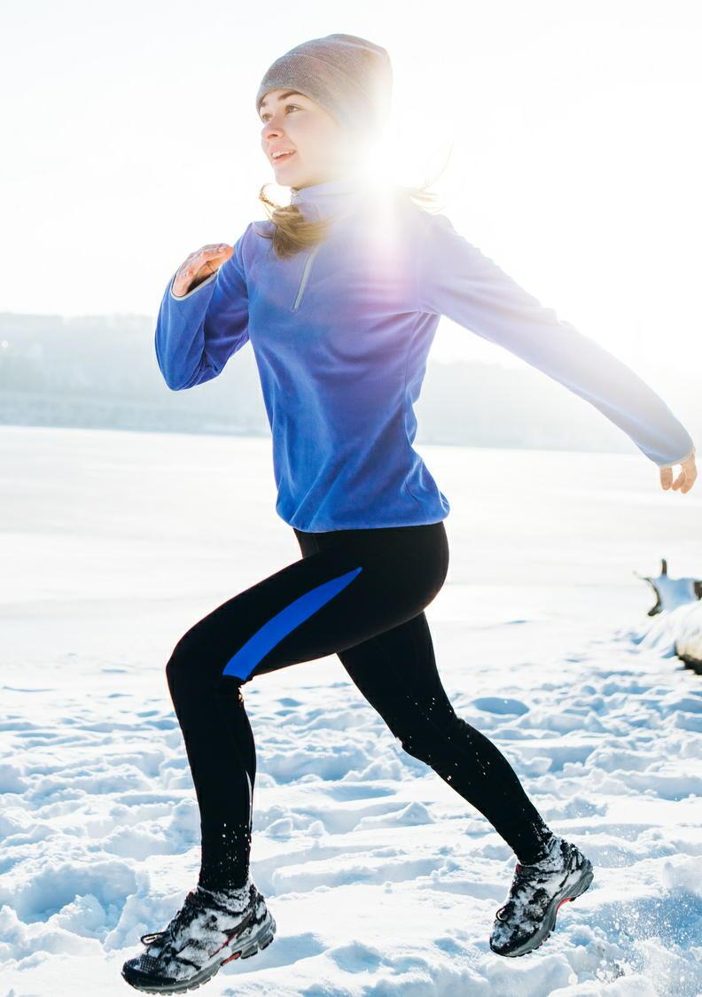 冬のウォーキングの効果を高める5つの方法 寒い冬には注意が必要