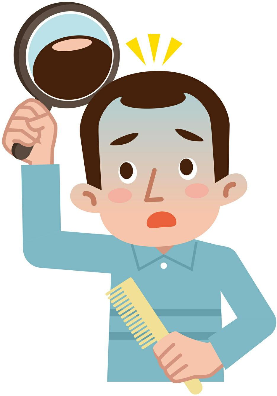 「男性型脱毛症」(AGA)の原因は血流不足やストレス? 近畿大学などが解明
