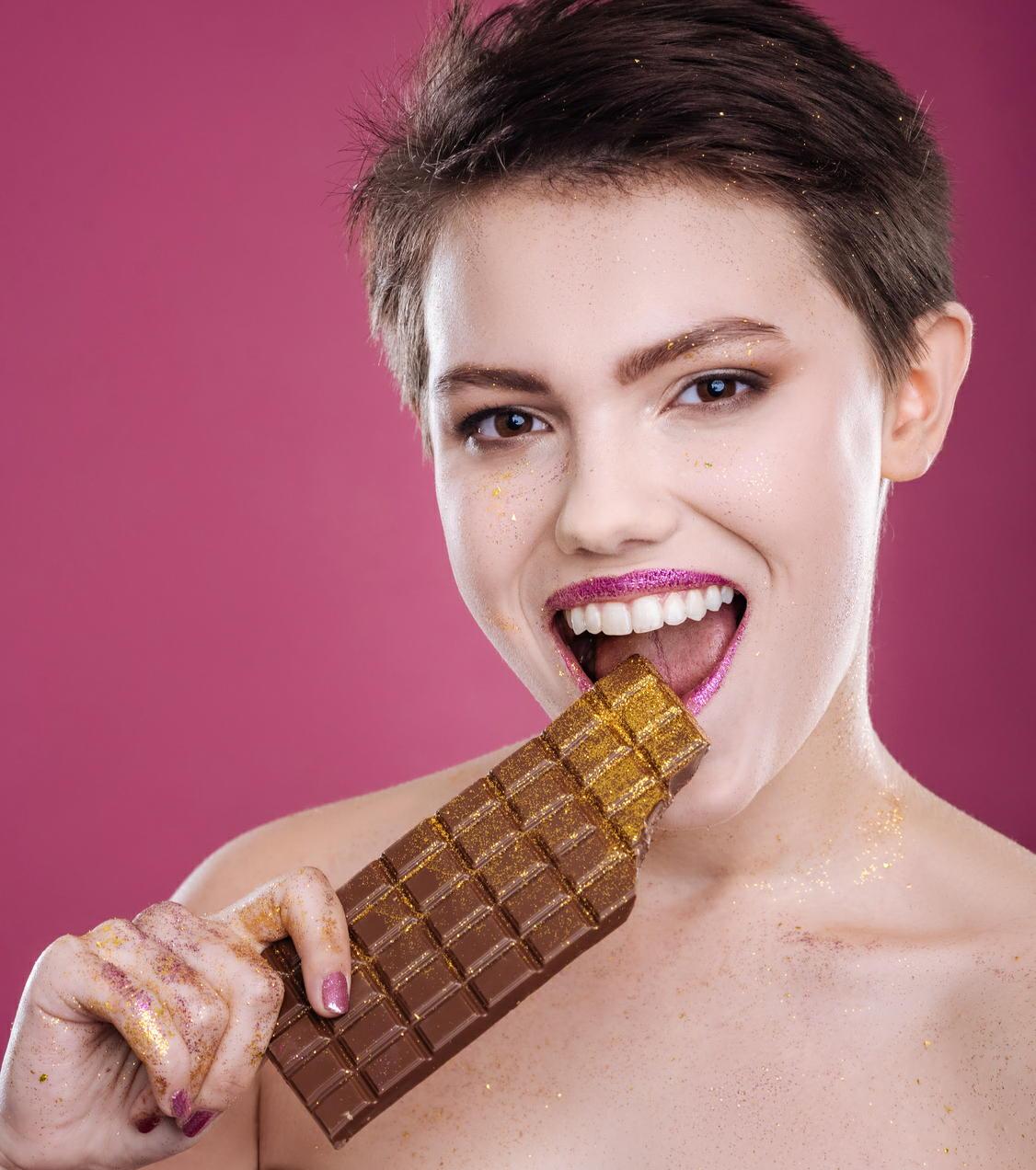 チョコレートが閉経後女性の高血糖、高血圧、高コレステロールを改善