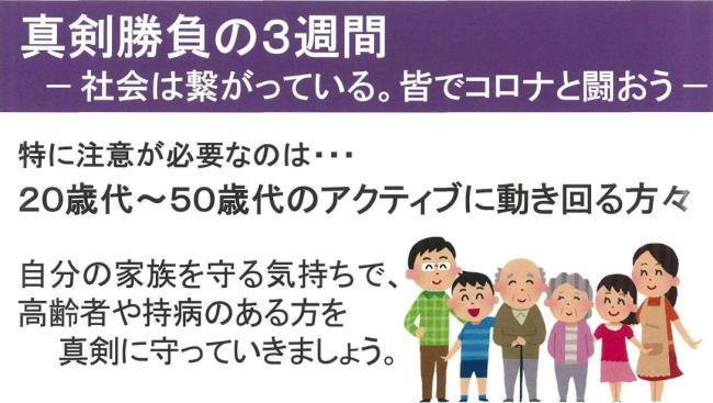 東京都医師会 真剣勝負の3週間