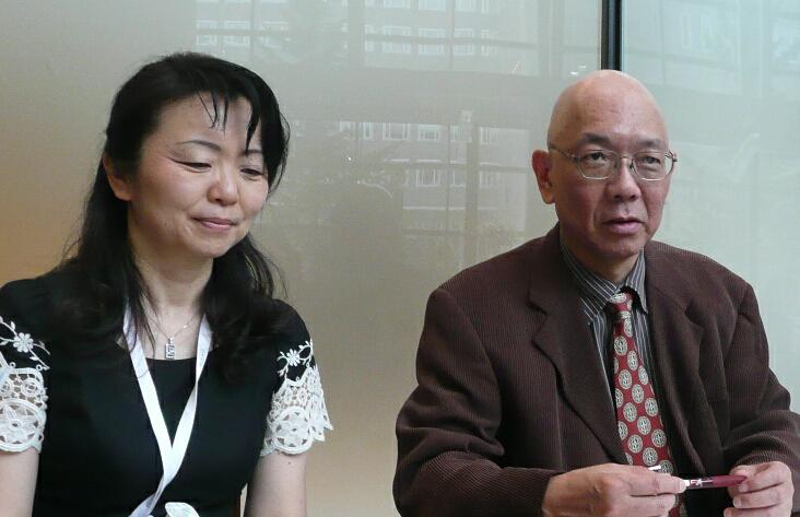 安部先生と小野澤さん